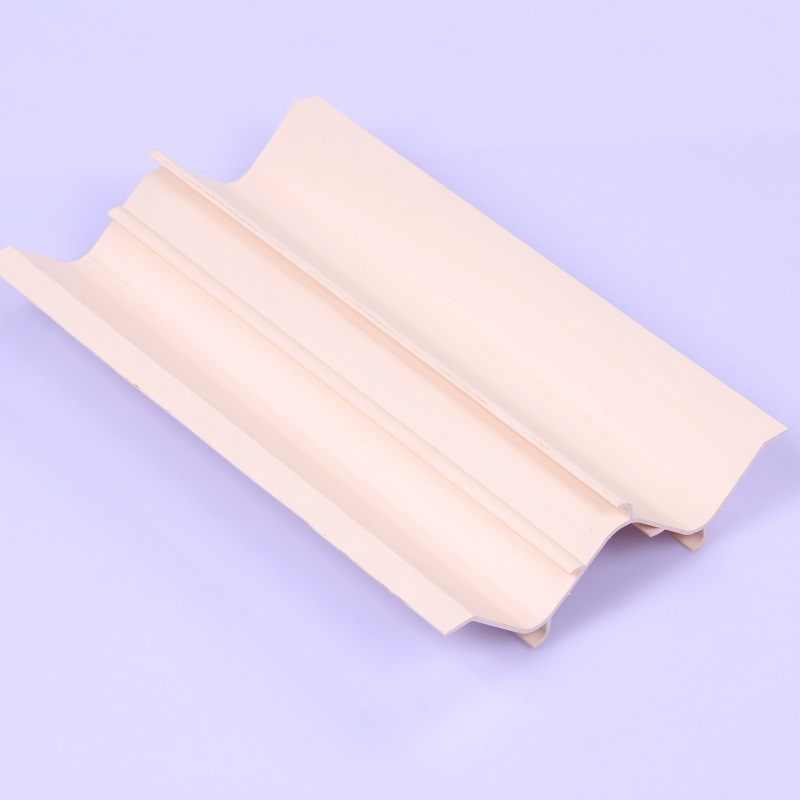 custom color extruded pvc plastic profile panel for waterbreak appliance