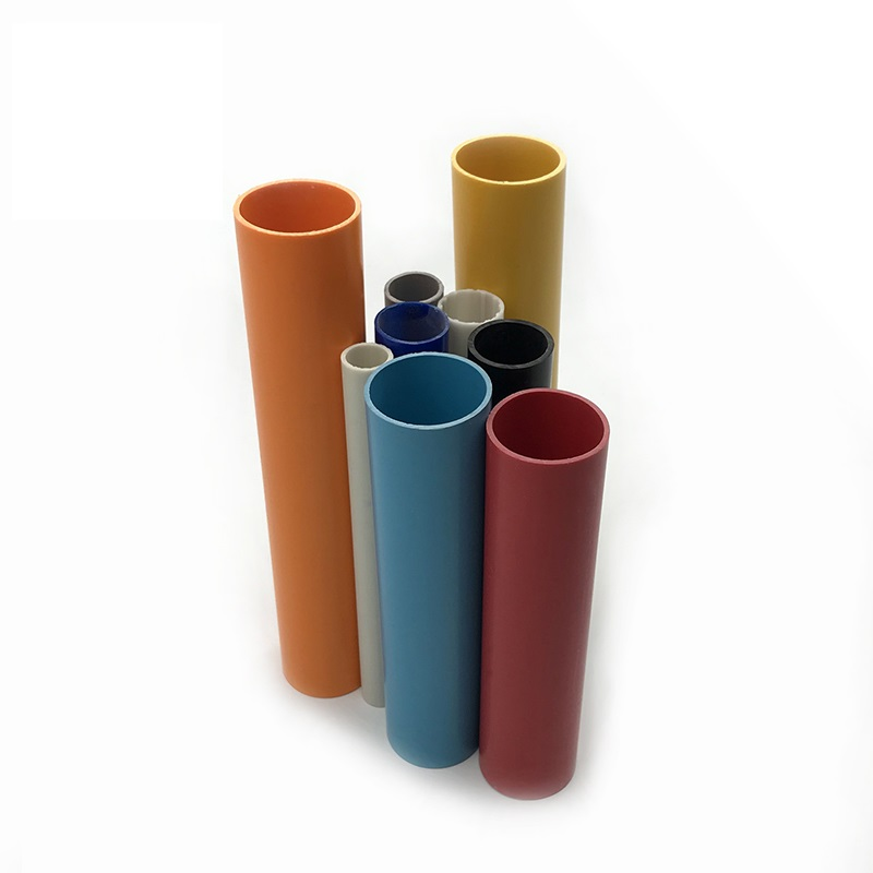 extruded PVC plastic tube pipe tubing made in China Manufacturer custom