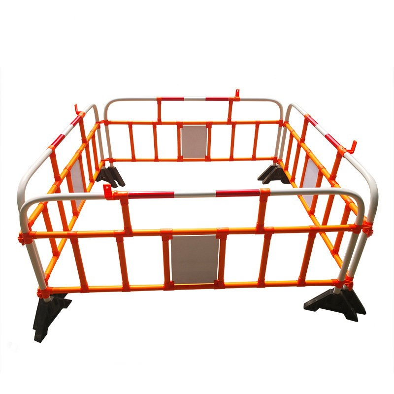 PVC plastic traffic safety facilities fence, construction site isolation barrier, road barriers from China Manufacturer
