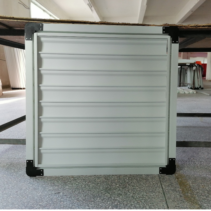 Custom extruded PVC Plastic blinds shutters plantation shutters Louver for exhaust fan