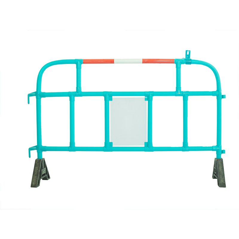 2mtr PVC Pipe Plastic Pedestrian Protection Barrier driveway barriers crowd control barrier price suppliers from China