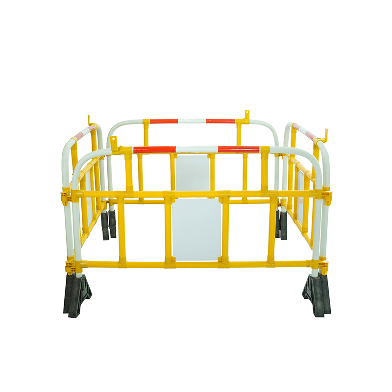 Custom manufacturer highway pedestrian barriers  lightweight Crowd Blocker Portable Barriers  for vehicle safety control